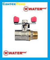 Кран Шаровой 1/2 Water Pro DN 15 PN 20 ГШБ