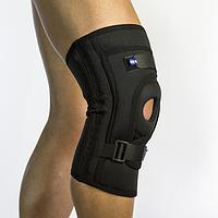 Бандаж для фиксации коленной чашечки неопреновый Алком 4038, р.5, р.6, черный