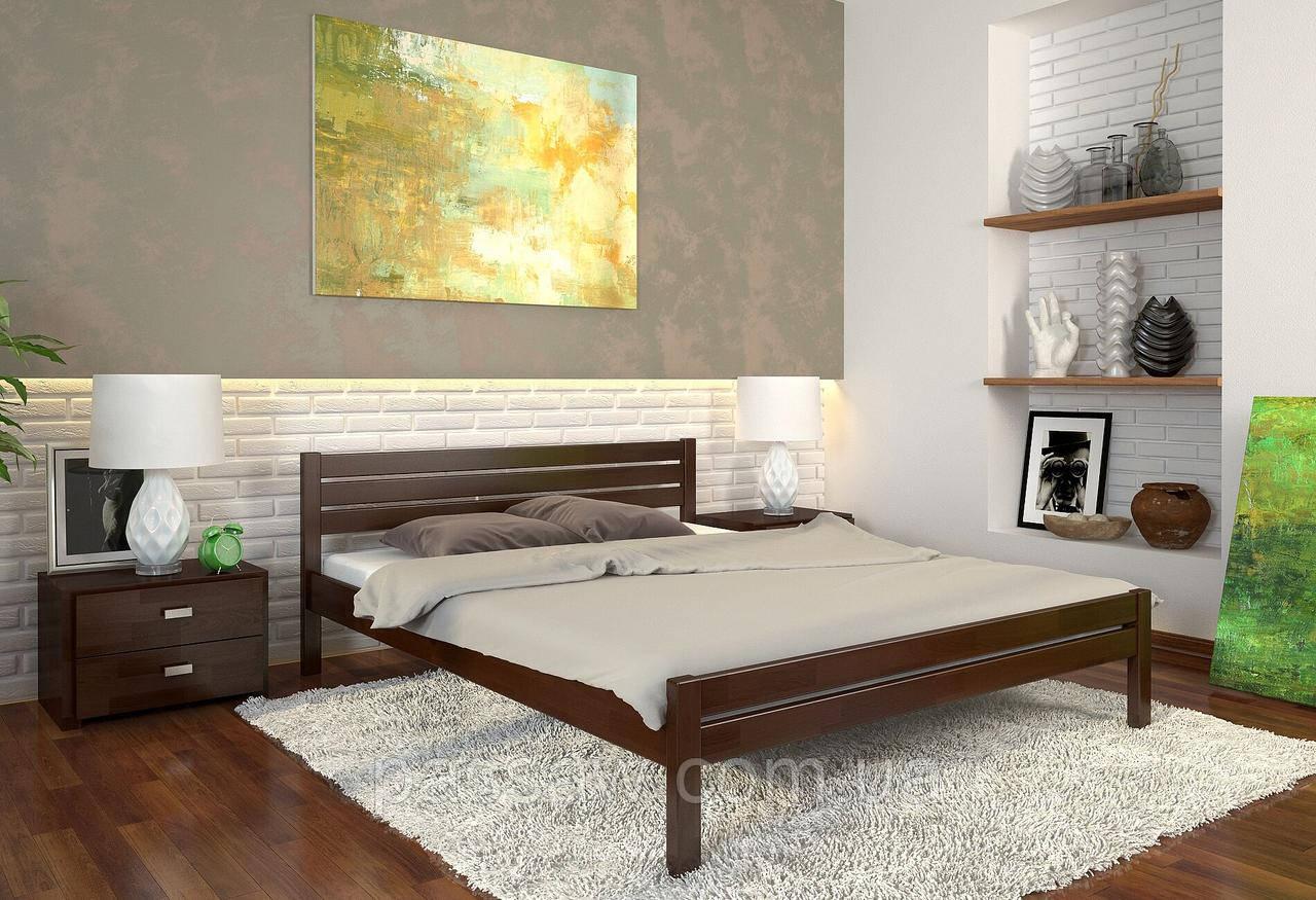 """Кровать деревянная ARBOR DREV  """"Роял"""" 0,9 сосна"""