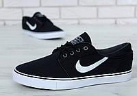 Мужские кроссовки Nike Stefan Janoski black, фото 1