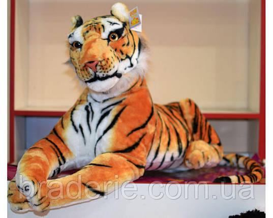 Мягкая игрушка Тигр лежит 70 см 8898-48, фото 2