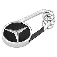 Брелок Mercedes-Benz Key Ring Cape Town, Black / Silver (B66956711)