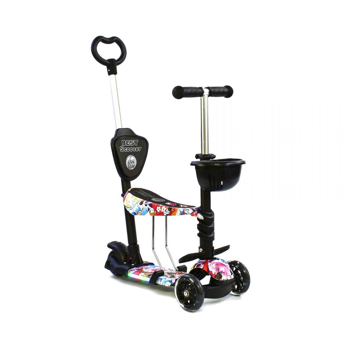Самокат трехколесный Best Scooter 5в1 61080