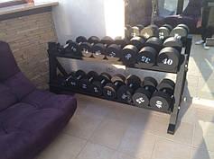 Гантельный ряд от 5 до 40 кг с шагом 5 кг под заказ