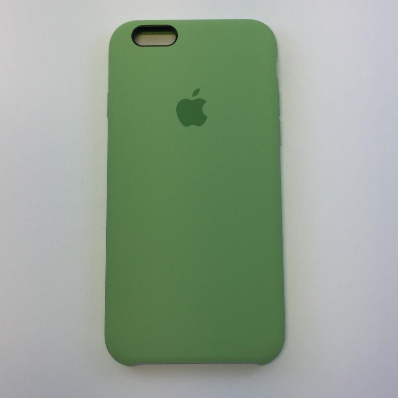 Силиконовый чехол для iPhone 5/5s/SE, - «фисташка» - copy original