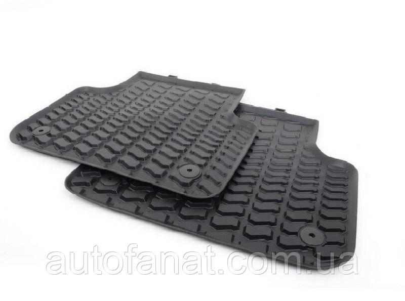 Оригинальные задние коврики салона Audi Q7 (4L) (4L0061511041)