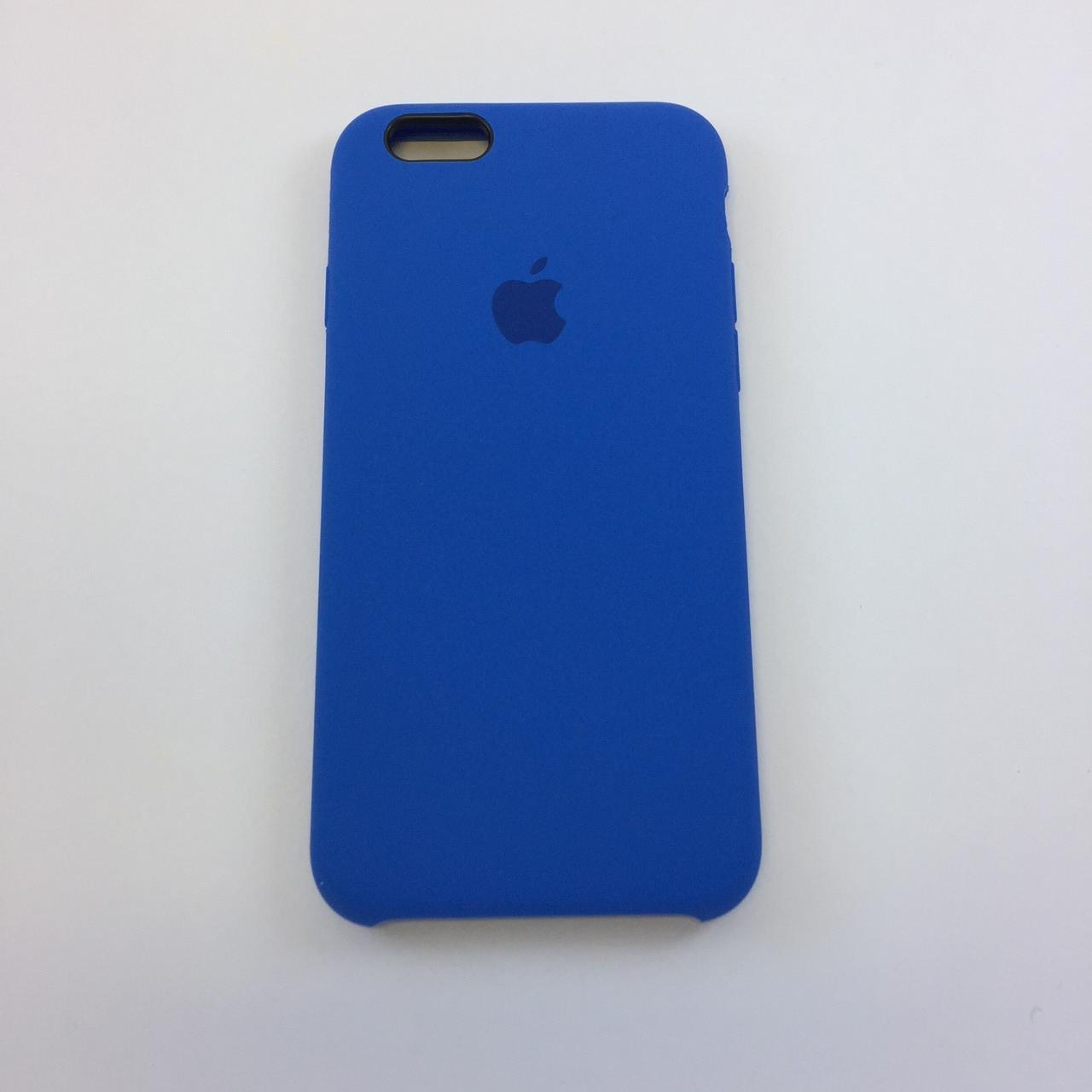 Силиконовый чехол для iPhone 5/5s/SE, - «небесно синий» - copy original