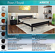 """Кровать деревянная ARBOR DREV  """"Роял"""" 1,2 сосна, фото 9"""