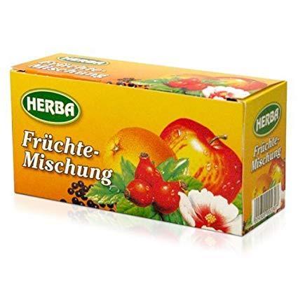 Чай фруктовый  Herba Früchte - mischung 40g
