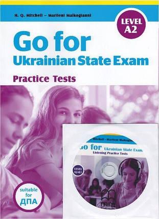 Go for Ukrainian State Exam Level A2 + CD + Listening Test (оновлений), фото 2
