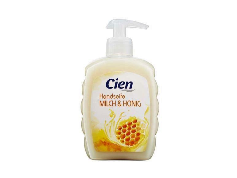 Жидкое мыло Cien Flüssige Handseife Milch & Honig 500мл