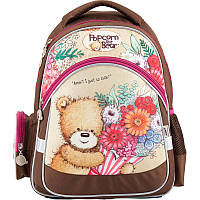 Школьный ортопедический рюкзак kite po18-521s popcorn the bear