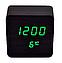 Электронные часы VST-872 в деревянном корпусе с температурой, фото 4