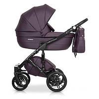 Универсальная детская коляска 2в1 Riko Naturo Ecco 01 Plum