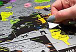 Чорна скретч карта Європи - Europe Black Edition (My Map), фото 6