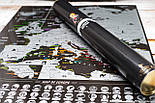 Чорна скретч карта Європи - Europe Black Edition (My Map), фото 8