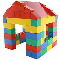 Конструктор домик из 134 элементов детский, фото 1