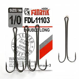 Крючок Fanatik двойной FDL-11103 №1/0