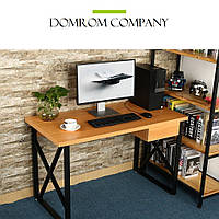 """Письменный стол""""Квад"""" из массива дерева в стиле loft, фото 1"""