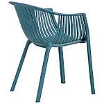 Кресло Crocus PL (Крокус) Тёмно-бирюзовый, фото 4