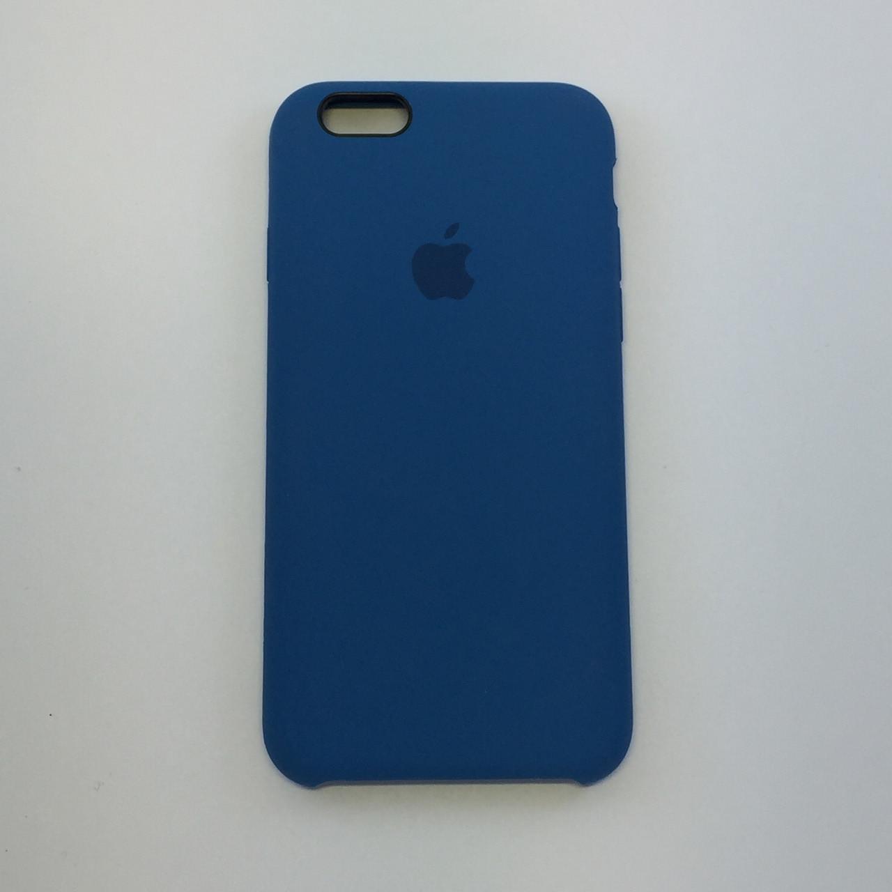 Силиконовый чехол для iPhone 5/5s/SE, - «темный кобальт» - copy original