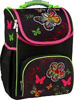 Ранец для девочки каркасный ортопедический 701 Butterfly, фото 1