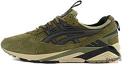 Мужские кроссовки Asics Gel Kayano x Footpatrol Trainer Green H42UK-8690, Асикс Гель Каяно