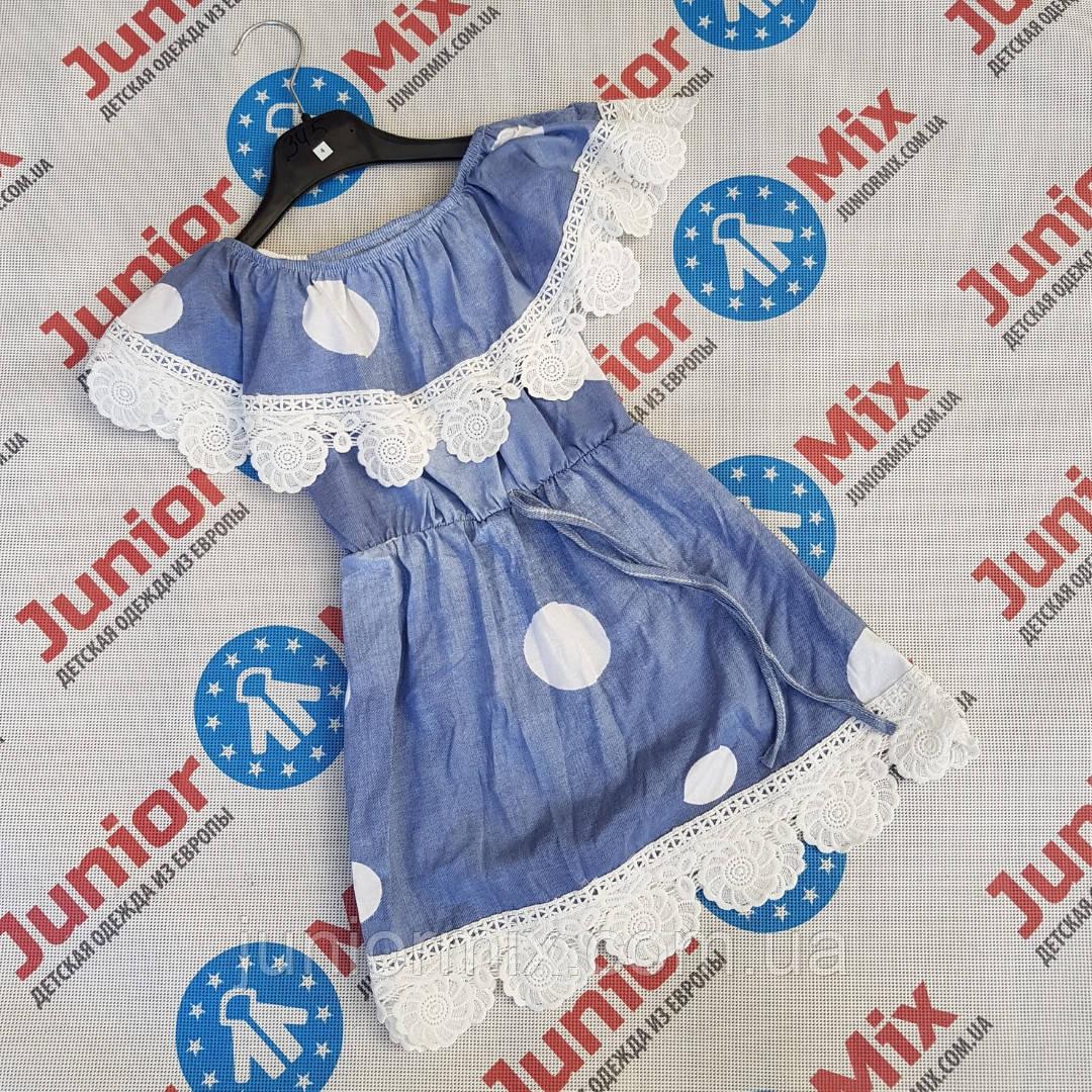 Оптом детский котоновый сарафан для девочек