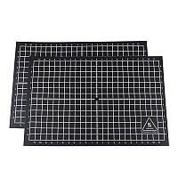 Лента для печати наклеек с координатами 200 * 300 мм с черным клеем для 3D-принтера RepRap / MK2A / Prusa i3 - 1TopShop