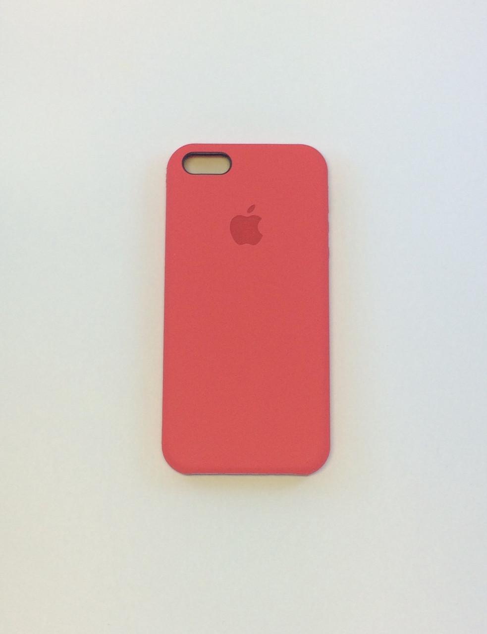 Чехол для iPhone 6/6s, спелая малина, силикон, copy original