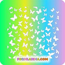 Трафарет Метелики №2