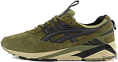 Женские кроссовки Asics Gel Kayano x Footpatrol Trainer Green H42UK-8690, Асикс Гель Каяно
