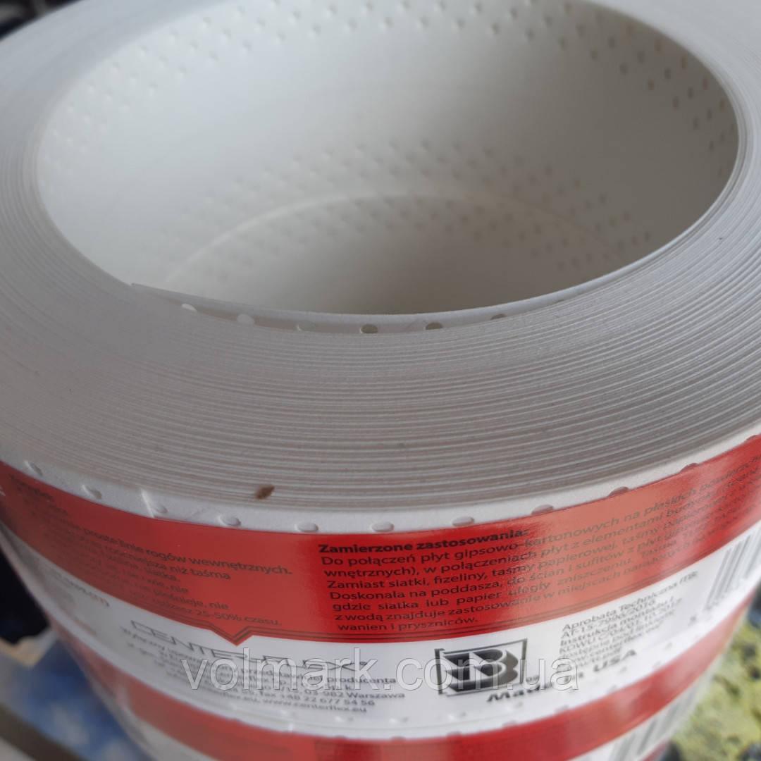 Tuff-tape Лента армирующая для швов гипсокартона STRAIT-FLEX, 57 мм, 0,49 мм, 20 м, Medium
