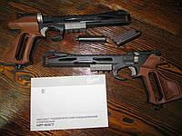 Спортивный газобалонный пневматический пистолет мр-657 baikal, фото 1