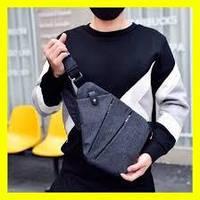4183d8fb76d3 Мужская сумка-кобура cross Body кросс Боди через Плечо рюкзак Слинг