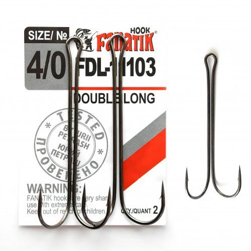 Крючок Fanatik двойной FDL-11103 №4/0
