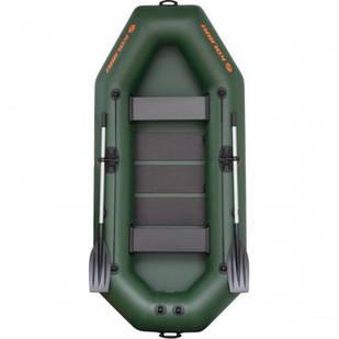 Надувная лодка Kolibri К-280Т Стандарт с пайолом слань-коврик