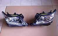 Передние фары на Lexus LX570 под рестайлинг