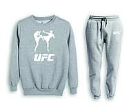 Мужской спортивный костюм, чоловічий костюм (свитшот+штаны) UFC S697, Реплика