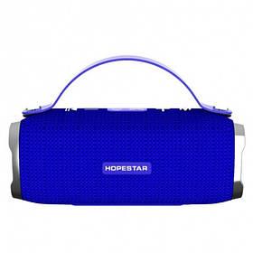 Мощная портативная стерео-колонка Hopestar H24 Blue Original