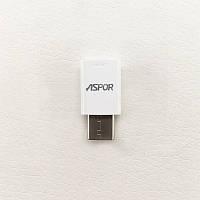 Переходник Aspor Type-C - Micro