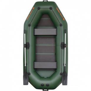Надувная лодка Kolibri К-280СТ Стандарт с пайолом слань-коврик