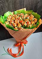 Букет из 25 пионовидных тюльпанов, фото 1