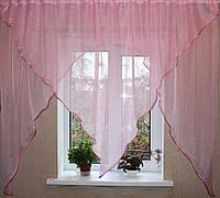 Кухонный комплект №9. Цвет розовый
