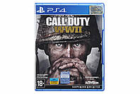 Диск Call of Duty WWII  (Blu-ray, Russian version) для PS4, фото 1