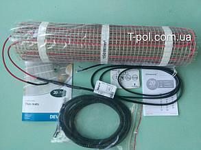 Теплый пол Devi нагревательный мат devicomfort dtir-150t на 2,5 м2, фото 2