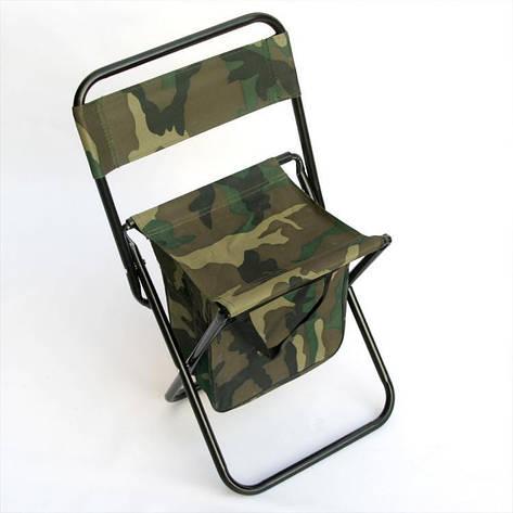 Раскладной стул - сумка со спинкой Камуфляж, фото 2