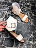 Женские сандалии из натуральной кожи бежевого цвета BREAK-IN BEIGE LEATHER, фото 3