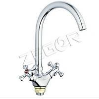 Смеситель для кухни ZEGOR (TROYA) DTZ4-A827 (TLA)