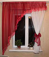 Кухонный комплект, арка №13а Цвет бордовый